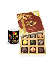 Chocholik Luscious Collection Of Truffles With Bir...