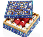 Ghasitarams Sugarfree Blue Shining Kaju Mix Box