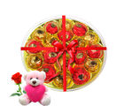 Chocholik Cute Little Chocolate Combo With Teddy and Rose - Luxury Chocolates