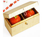 Ghasitaram's Golden Double Laddoo Box