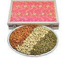 Bikanervala Silver Dry Fruit Tray (450 gm)