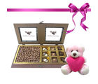 Tempting Chocolate Box With Milk Nutties With Combo From Chocholik Belgium Gifts