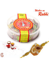 Nutrine Flavoured Butter Toffees and Rakhi Hamper