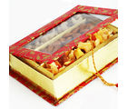 Red Dryfruits Hamper Box