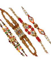 Ethnic Rakhi Set