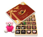 Chocholik Classic Collection Of Dark And Milk Chocolate Box With Teddy - Belgium Chocolates