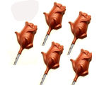 Set of 5 Rose Lollies (70 gm)