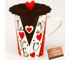 Love Cup, cup with chocolate