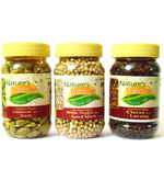 Nature's Treasure Organic Cardamom White Pepper Clove Combo (200 gm)