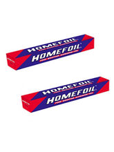Homefoil Aluminium Foil Food Wrapping foil with Cutter 21 mtr Pack of 2