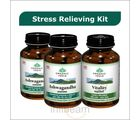Stress Relieving Kit - Buy 2 Ashwagandha Capsules Bottles + 1 Vitality Capsules Bottle (60)