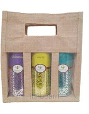 Goodwyn Jute Bag With Tea Pouches
