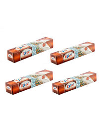 Ezee Silver Aluminium Foil 1 kg 18 Micron Pack of 4, silver