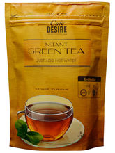 Certified Cafe Desire Pure Green Tea - Ginger Taste - 200 gms