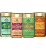 Set Of 4 - Tulsi Tea 100Gm Tin (100 gm)
