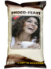Certified Cafe Desire Choco Feast Premix for Vending Machines - 1 kg
