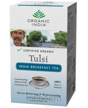 Tulsi India Breakfast Tea 18 Tea Bags Box (18)