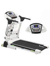 Powermax Fitness TDA-330 Multifunction Motorized Treadmill 3.0 HP Continuous, white
