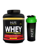 INLIFE Whey Protein 5Lb (Mango Flavour) With Free ...