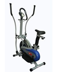 Redfit Ellptical Exercise Cycle With Steel Wheel & Seat Adjustment Facility, white