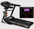 Powermax Fitness TDA - 535 Motorized Treadmill - Touch Key 3.0 HP Continuous, black