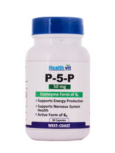 Healthvit P-5-P 50 Mg Coenzyme Form Of B6 - 60 Capsules