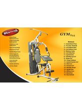 Pro Bodyline Domestic Home Gym Stylish & Heavy– 844