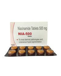 WestCoast Nia-500 Niacinamide (Vitamin B3) 500Mg 100 Tablets