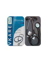 Dual Bell Stethoscope (Adult And Pediatric Combined), Black