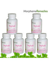 Morpheme Triphala Supplements For Colon Cleansing And Digestive Health- 6 Combo Pack - 500mg Extract - 60 Veg Capsules