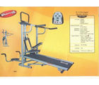 Pro Bodyline Sturdy & Stylist 4 in 1 Manual Treadmill