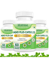 Morpheme Mind-Plus Capsules For Mental Alertness -...
