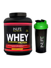 INLIFE Whey Protein 5Lb (Strawberry Flavour) With ...