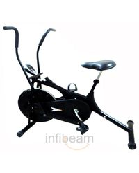 Bodygym Stamina Dual action Airbike, black
