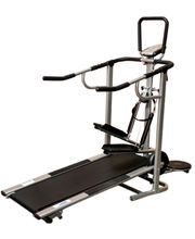Health Fit 4 in 1 Manual Treadmill