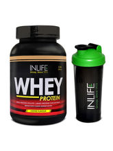 INLIFE Whey Protein 2Lb (Coffee Flavour) With Free...