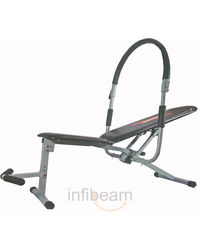 Branded Probodyline Sturdy & Heavy Wonder Abdominal Machine, standard-black