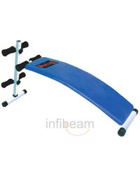 Pro Bodyline Curve Sit Up Bench, standard-blue