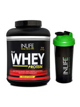 INLIFE Whey Protein 5Lb (Vanilla Flavour) With Fre...