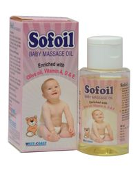 WestCoast Sofoil Baby Massage Oil 60ml (Pack of 3)