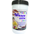 WestCoast Wescovita Junior High Protein Nutritional Powder With DHA with D3 Chocolate Flavour 200gm - Pack of 4