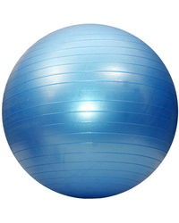 Aerofit Gym Ball 75 CMS, standard-blue