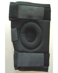 Tripoint Knee Wrap Hinged, black, xl