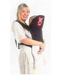 Baby Carrying Support,  black