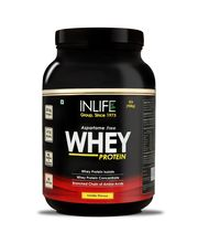 INLIFE Whey Protein 2Lb Vanilla Flavour