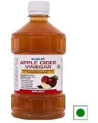 "HealthVit Apple Cider Vinegar 100% Natural with goodness of"" Mother"" of Vinegar 500ml"