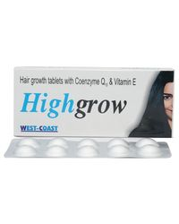WestCoast Highgrow 30 Tablets for Hair Growth & Hair Fall Prevention