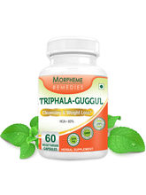 Morpheme Triphala Guggul Supplements For Cleansing...