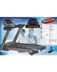 Pro Bodyline AC Commercial Treadmill X5, grey