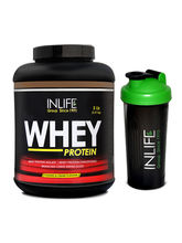 INLIFE Whey Protein 5Lb (Cookies And Cream Flavour...